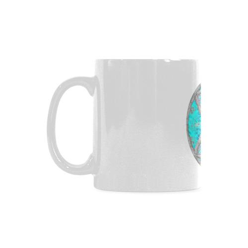protection in blue harmony White Mug(11OZ)