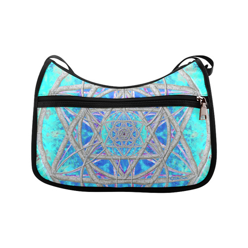 protection in blue harmony Crossbody Bags (Model 1616)