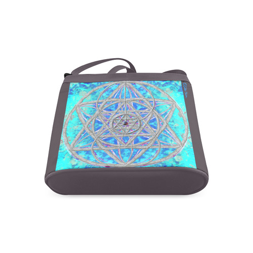 protection in blue harmony Crossbody Bags (Model 1613)