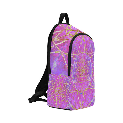 protection in purple colors Fabric Backpack for Adult (Model 1659)