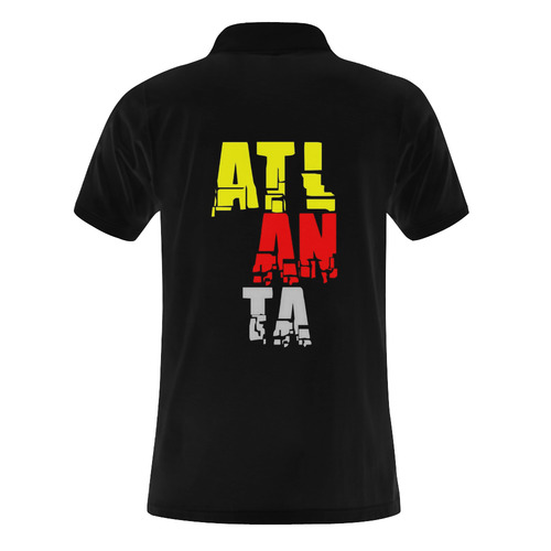 Atlanta by Artdream Men's Polo Shirt (Model T24)