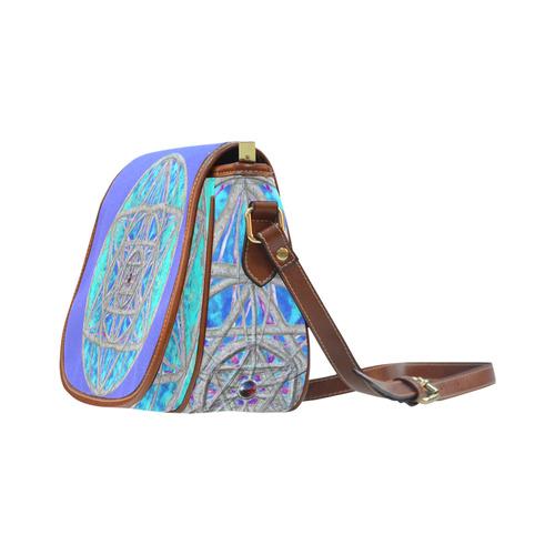 protection in blue harmony Saddle Bag/Large (Model 1649)