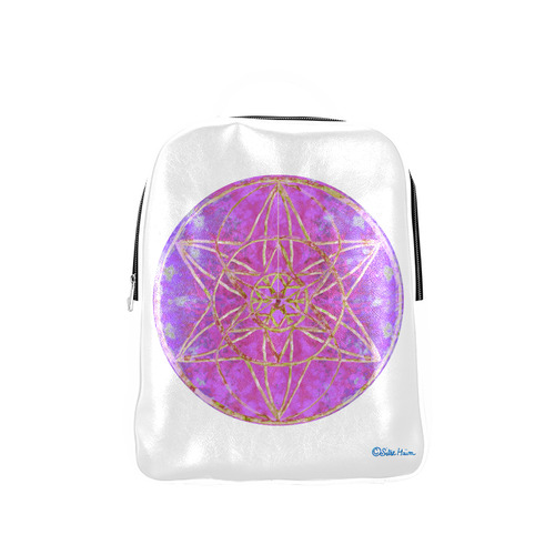 protection in purple colors Popular Backpack (Model 1622)