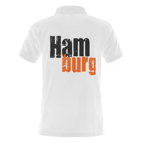 Hamburg by Artdream Men's Polo Shirt (Model T24)