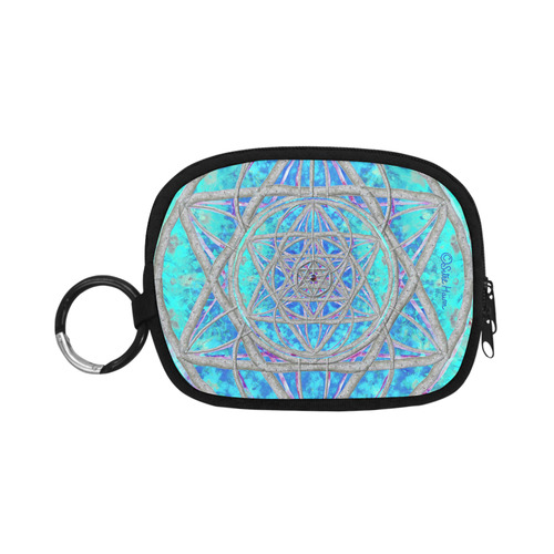 protection in blue harmony Coin Purse (Model 1605)