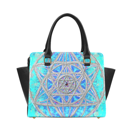 protection in blue harmony Classic Shoulder Handbag (Model 1653)