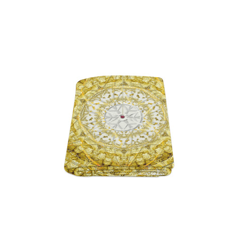 """protection from Jerusalem of gold Blanket 40""""x50"""""""