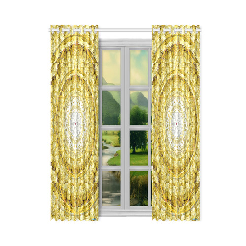"""protection from Jerusalem of gold New Window Curtain 50"""" x 84""""(One Piece)"""
