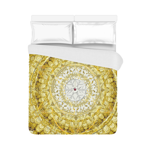 """protection from Jerusalem of gold Duvet Cover 86""""x70"""" ( All-over-print)"""