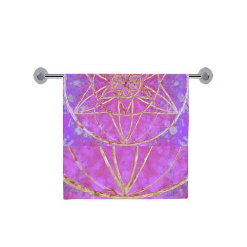 """protection in purple colors Bath Towel 30""""x56"""""""