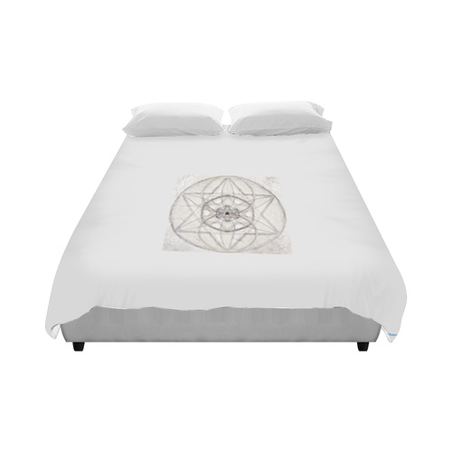 """protection through fundamental mineral energy Duvet Cover 86""""x70"""" ( All-over-print)"""