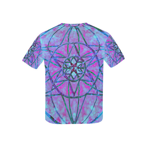 protection through an indigo wave Kids' All Over Print T-shirt (USA Size) (Model T40)