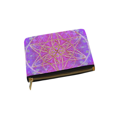 protection in purple colors Carry-All Pouch 6''x5''