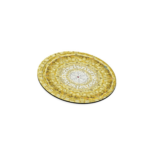 protection from Jerusalem of gold Round Coaster