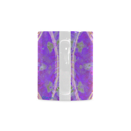 protection in purple colors White Mug(11OZ)