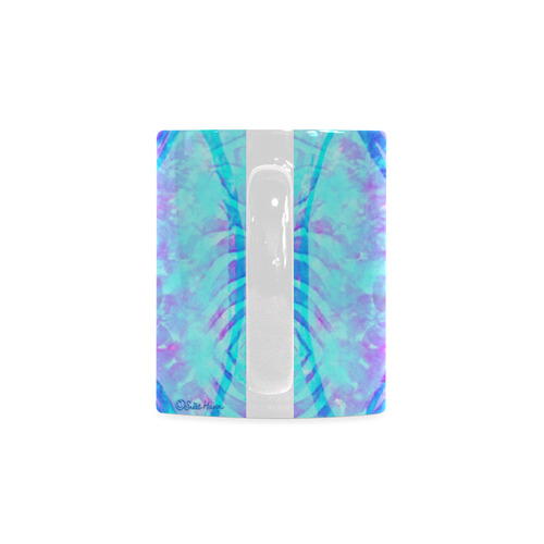 protection through an indigo wave White Mug(11OZ)