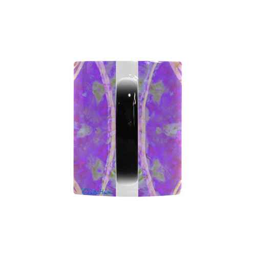 protection in purple colors Custom Morphing Mug