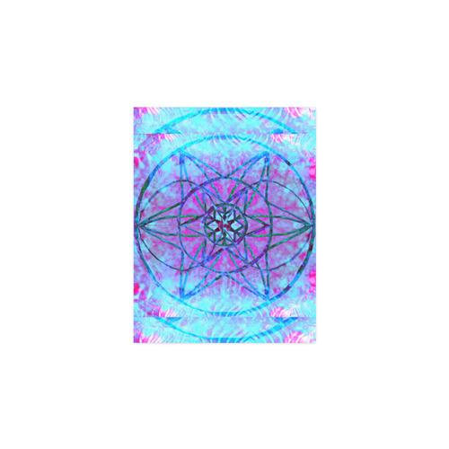 """protection through an indigo wave Poster 11""""x8.5"""""""
