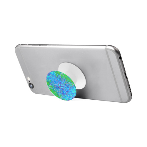 protection in nature colors-teal, blue and green Air Smart Phone Holder