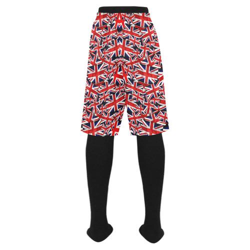 e930ed7ceab08 Union Jack British UK Flag Men's Swim Trunk (Model L21) | ID: D1622109