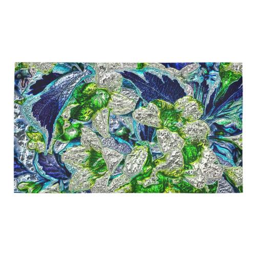 Floral glossy Chrome 2A by FeelGood Bath Rug 16''x 28''