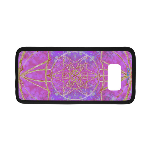 protection in purple colors Rubber Case for Samsung Galaxy S8