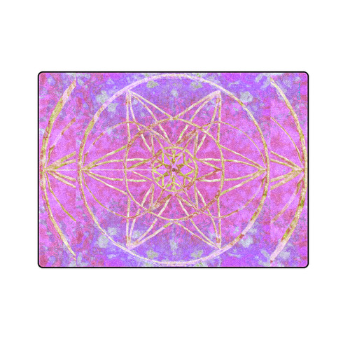 """protection in purple colors Blanket 58""""x80"""""""