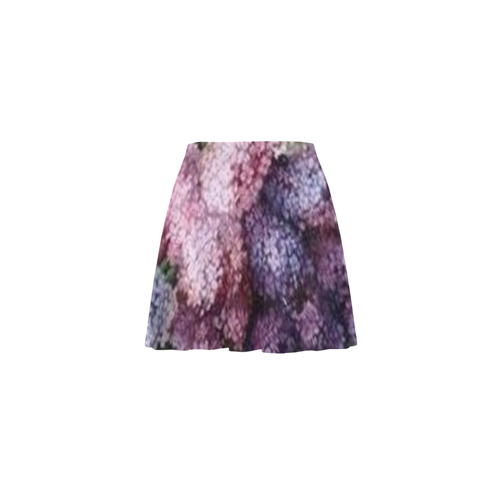 Lilac Bouquet Mini Skating Skirt (Model D36)
