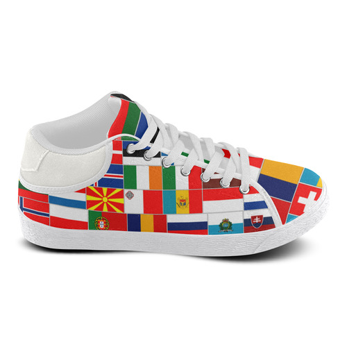 EUROPE Women's Chukka Canvas Shoes (Model 003)