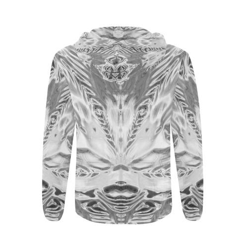 sd dichtringe chrom All Over Print Full Zip Hoodie for Men (Model H14)