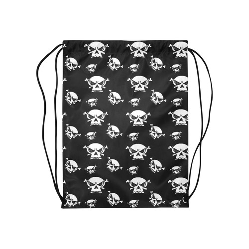 "Skull Boys Medium Drawstring Bag Model 1604 (Twin Sides) 13.8""(W) * 18.1""(H)"