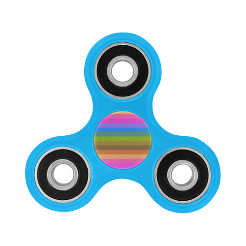rainbow stripes Fidget Spinner