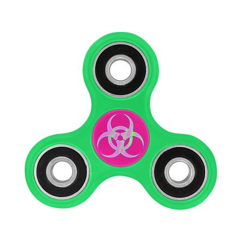 Pastel Biohazard Cybergoth art Fidget Spinner