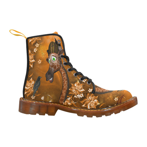 ec4f60940f8 Funny giraffe with feathers Martin Boots For Men Model 1203H   ID: D1652875