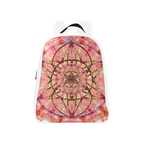 protection- vitality and awakening by Sitre haim School Backpack (Model 1601)(Medium)