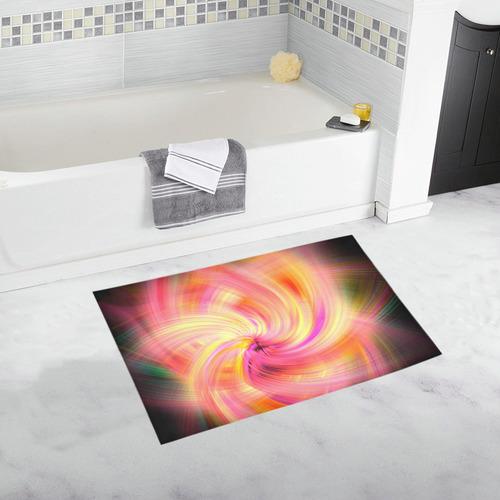 Frozen Star Fractal Bath Rug 20''x 32''