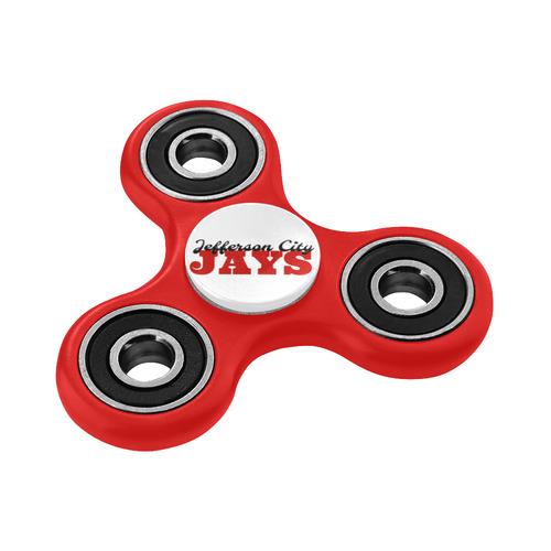 JC Jays red blk Fidget Spinner