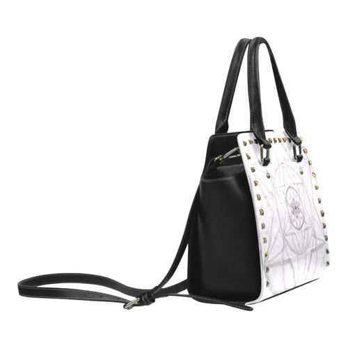 Protection- transcendental love by Sitre haim Rivet Shoulder Handbag (Model 1645)