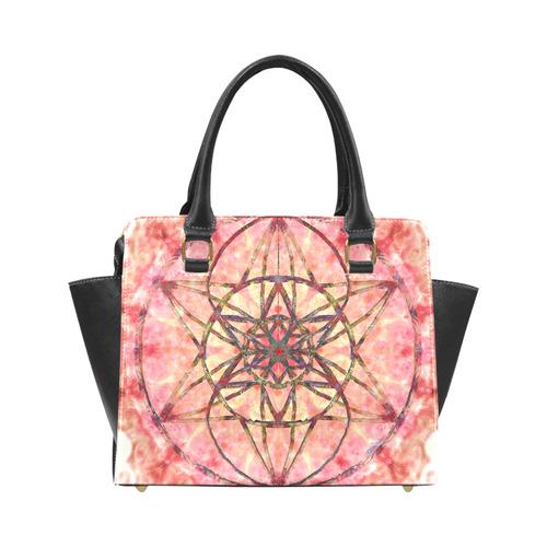 protection- vitality and awakening by Sitre haim Rivet Shoulder Handbag (Model 1645)