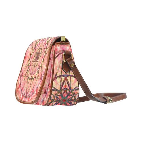 protection- vitality and awakening by Sitre haim Saddle Bag/Small (Model 1649) Full Customization