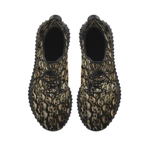 17e100096 ... Tenis unissex corrida Skull Wall Grus Women s Breathable Woven Running  Shoes (Model ...