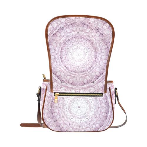 Protection-Jerusalem by love-Sitre Haim Saddle Bag/Small (Model 1649) Full Customization