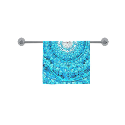 """Protection from Jerusalem in blue Custom Towel 16""""x28"""""""