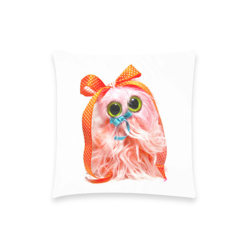 """Frothy the Gnome Custom  Pillow Case 18""""x18"""" (one side) No Zipper"""
