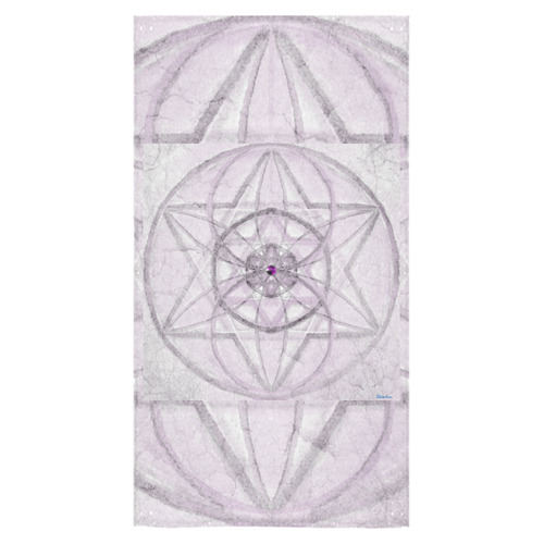 "Protection- transcendental love by Sitre haim Bath Towel 30""x56"""