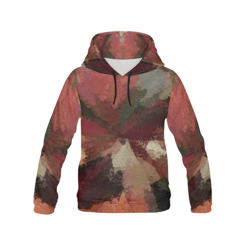 Autumn Radials by khoncepts.com All Over Print Hoodie for Men (USA Size) (Model H13)