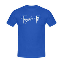 Fayah Fit Royal Blue Men s Slim Fit T-shirt (Model ... 576a3342ca571