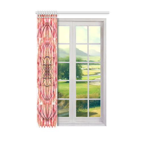 """protection- vitality and awakening by Sitre haim Window Curtain 50"""" x 84""""(One Piece)"""