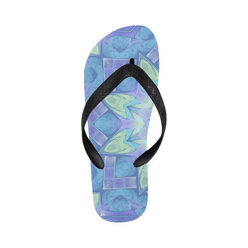 Little Beauty Flip Flops for Men/Women (Model 040)