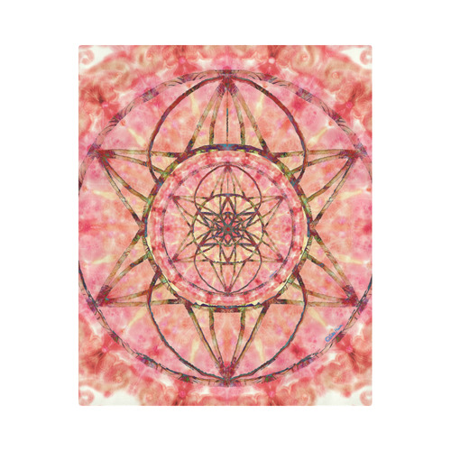 """protection- vitality and awakening by Sitre haim Duvet Cover 86""""x70"""" ( All-over-print)"""